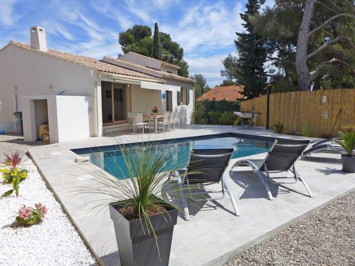 Villa LE DODO à Bandol, piscine privée, au calme