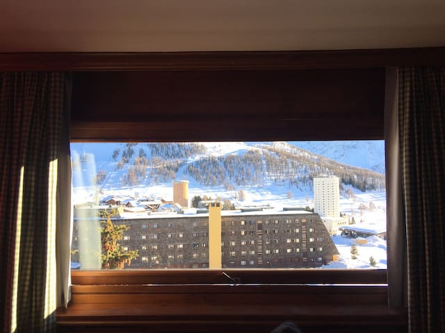 Spacious apartment in central Sestriere - Colle Sestriere - Huoneisto