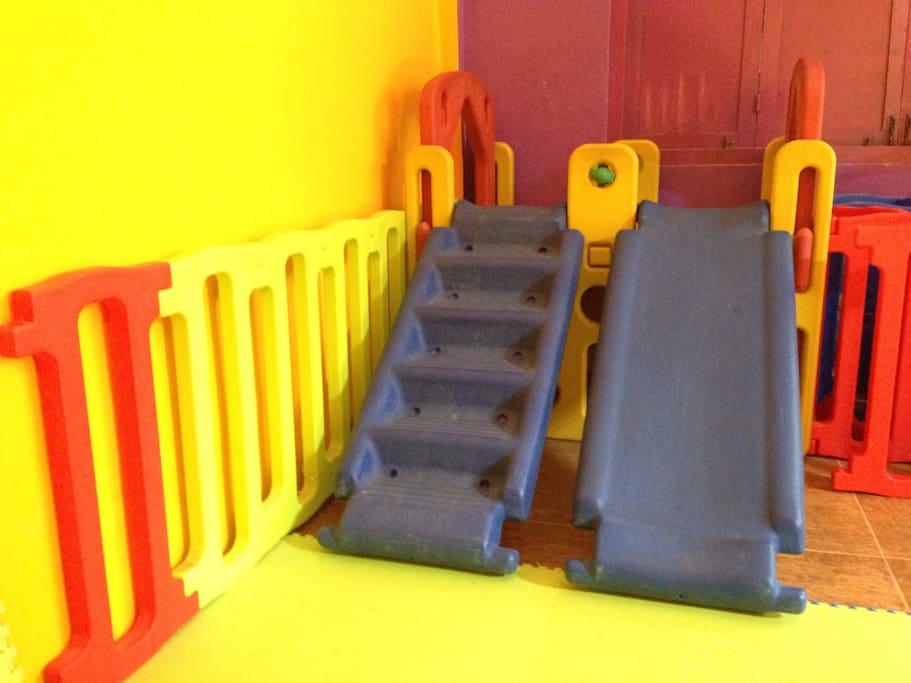 Dedicated kids' play area