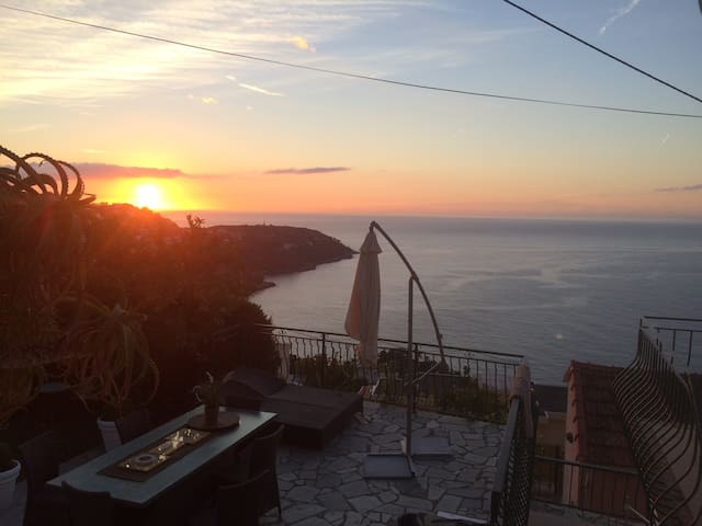 Charming villa and fantastic view near by Monaco - Roquebrune-Cap-Martin - Villa