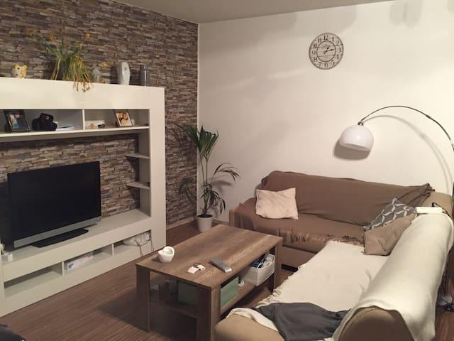 Zimmer in unserer gemütlichen Maisonettes Wohnung - Oberhausen - Apartemen