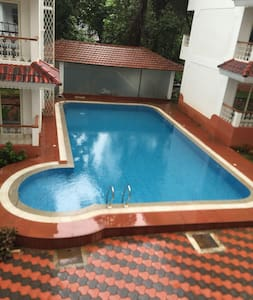 BEAUTIFUL 2bhk APARTMENT WITH SWIMMING POOL@SIOLIM - Lakás