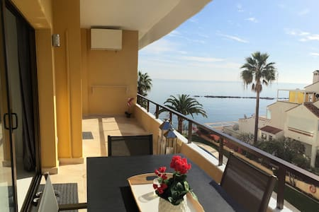 Brand new sea front beach apartment - Benalmádena