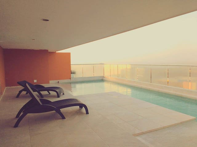 Great Location, New modern relaxing - Barranquilla - Leilighet