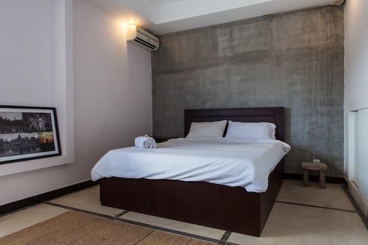 Modern Khmer style designed room