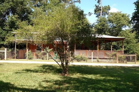 Double Bar B Guest Ranch- Bungalow - Plantersville
