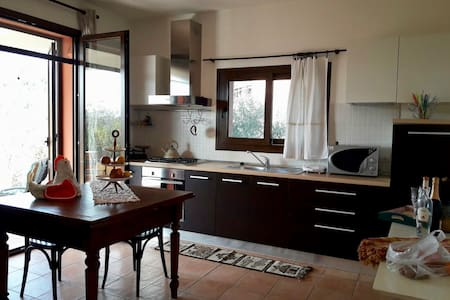 Twinflats in the olive grove for family or friends - Montefiore Conca - อพาร์ทเมนท์