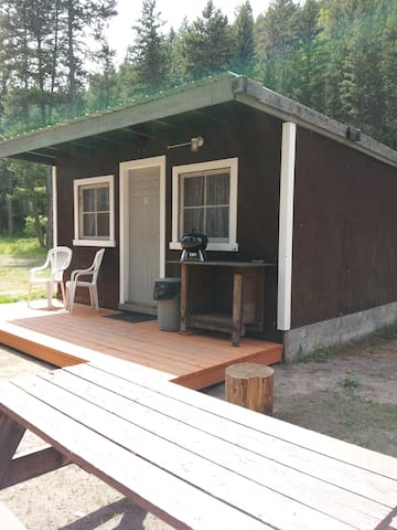 Double E Sportsman's Camp Cozy Cabin #1 - Westbridge - Stuga