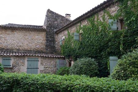 maison caractère en Gard provençal - Verfeuil