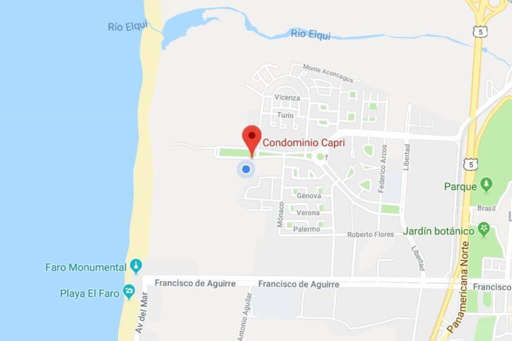 Inmejorable ubicación a 200 metros de la playa y 5 minutos del mall puerta del mar
