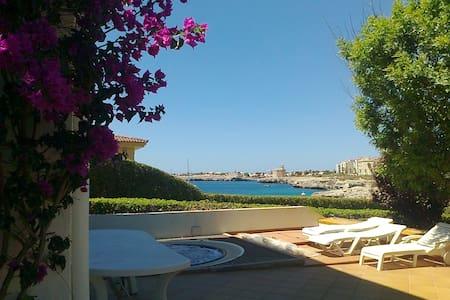 Villa en primera linea de mar con piscina i jacuzi - Ciutadella de Menorca - Villa