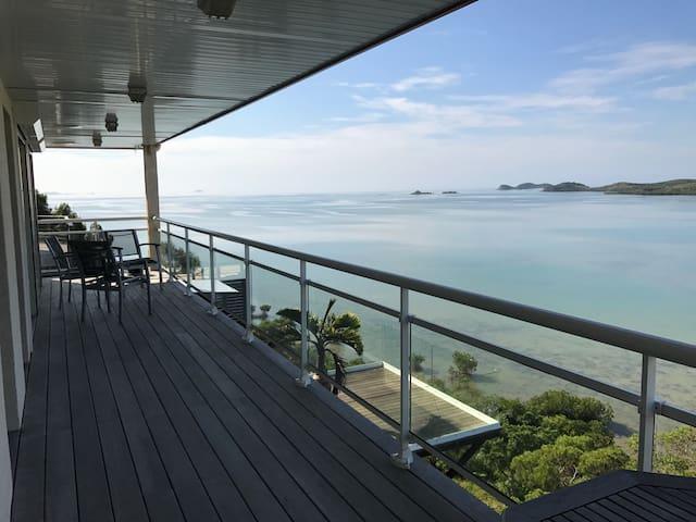 Haut de Villa spacieux Vue Lagon - Nouméa - Lägenhet