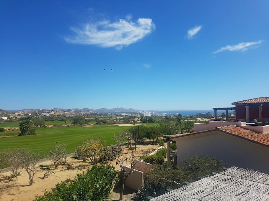 View to the Club Campestre Golf Course