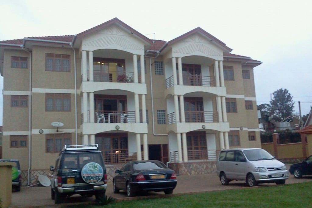 Front View - Kintu Apartments