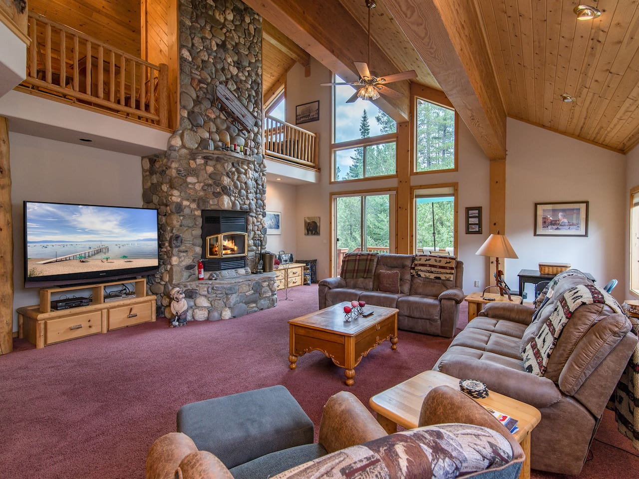 Welcome to Truckee! Your getaway is professionally managed by TurnKey Vacation Rentals.
