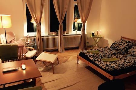 Gemütliches, großes  Zimmer mitten im Zentrum - Flensburg