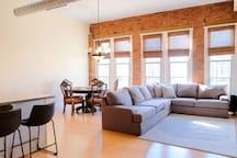 Large sectional sofa