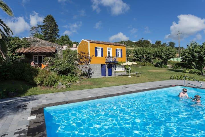 Casa da Vinha, very nice studio with a soberb view - Santo António - House