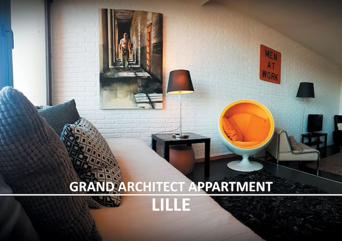 GRAND ARCHITECT APPARTMENT/LILLE Stade+parking