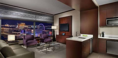JET LUXURY AT THE VDARA PANORAMIC 1BR PENTHOUSE