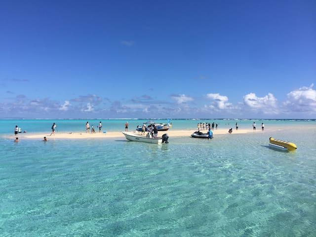 ⭐︎百合ケ浜ツアーも開催⭐︎のんびりヨロン島満喫できる宿