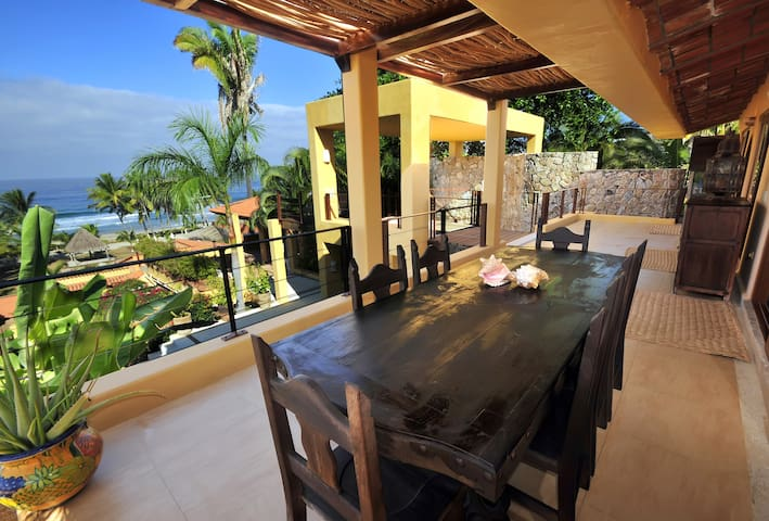 Beach Front Home!! - Punta Mita