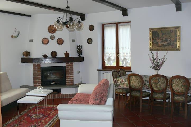 La cascina al sole e  nel verde tra ASTI e TORINO - San Paolo Solbrito - Prázdninový dům