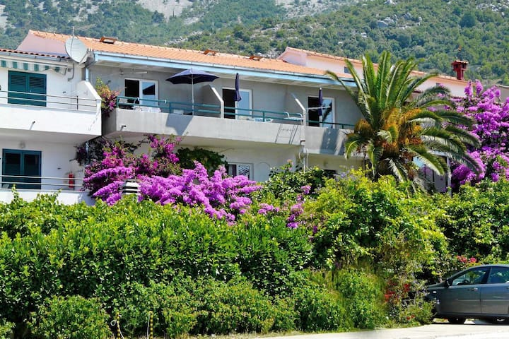 One bedroom apartment with air-conditioning Drvenik Donja vala, Makarska (A-9654-a)