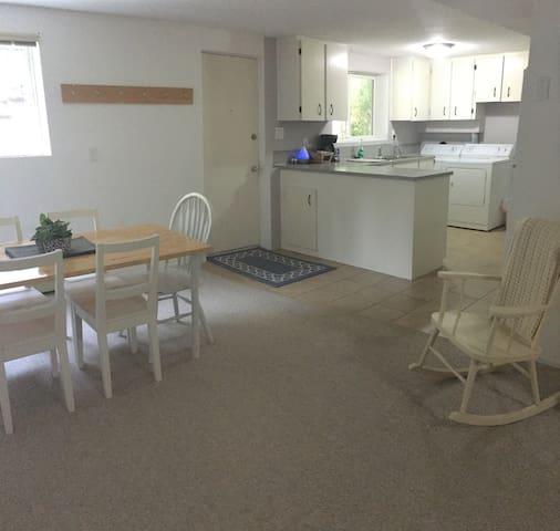 Quiet, Bright & Spacious 1 Bedroom Basement Suite