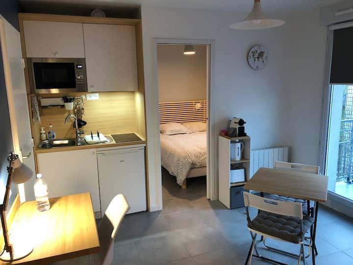 Appartement, Cergy-le-Haut, 30m2, 1min de la Gare