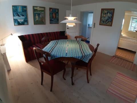 Rudkøbing: 45m2 selvstændig lejlighed i familiehus