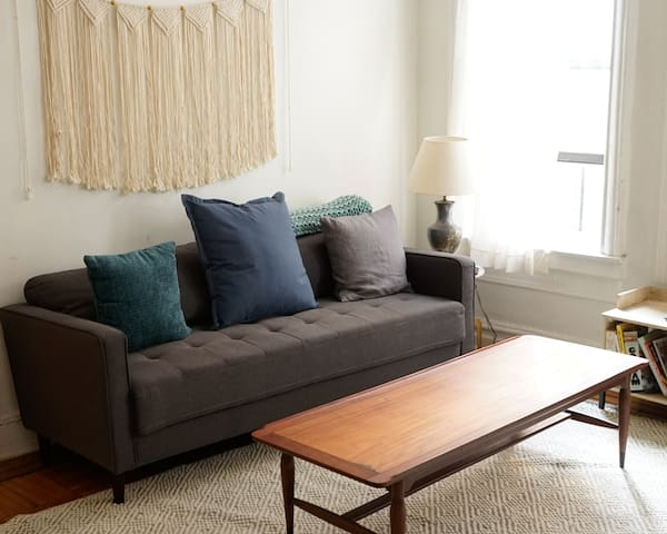 Quiet 1 bdrm in Fort Greene with a King size bed!