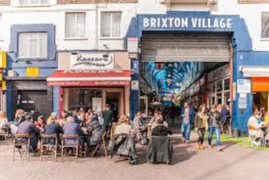 Brixton Village which is bustling with tourist and locals alike