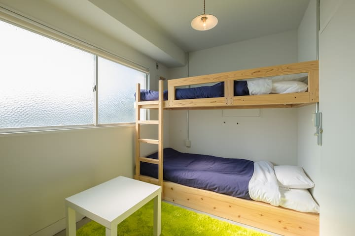 "The private room A of a hostel,""uzuhouse"" - 下関市 - Hostel"