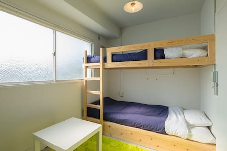 "The private room A of a hostel,""uzuhouse"" - 下関市"