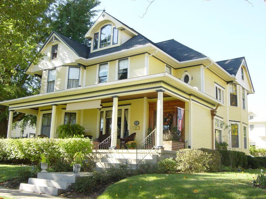Harkins House Bed And Breakfast Caldwell Ohio