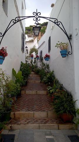 Traditional Spanish Home in Heart of Mijas Pueblo