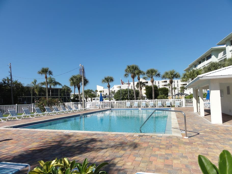 Heated pool access - located at the neighboring property
