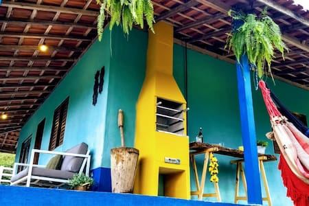 Casa do Ipê, 3 QTS Casa na roça perto de Gonçalves