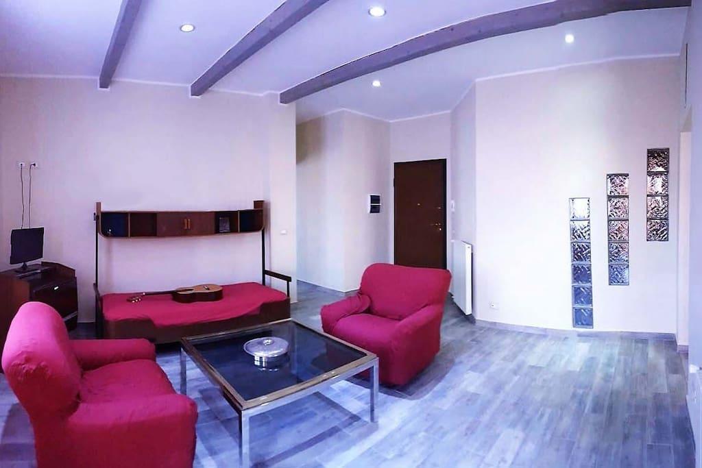 Living room- Soggiorno