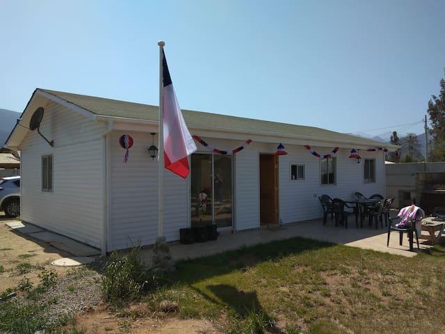 Casa con Piscina para 7 personas en Olmue