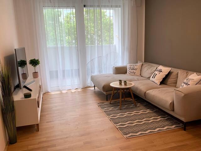 City Apartment im Grünen