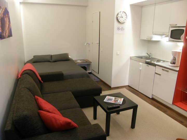 Ruka apartment on the slope.Gondola 100m.Free wifi
