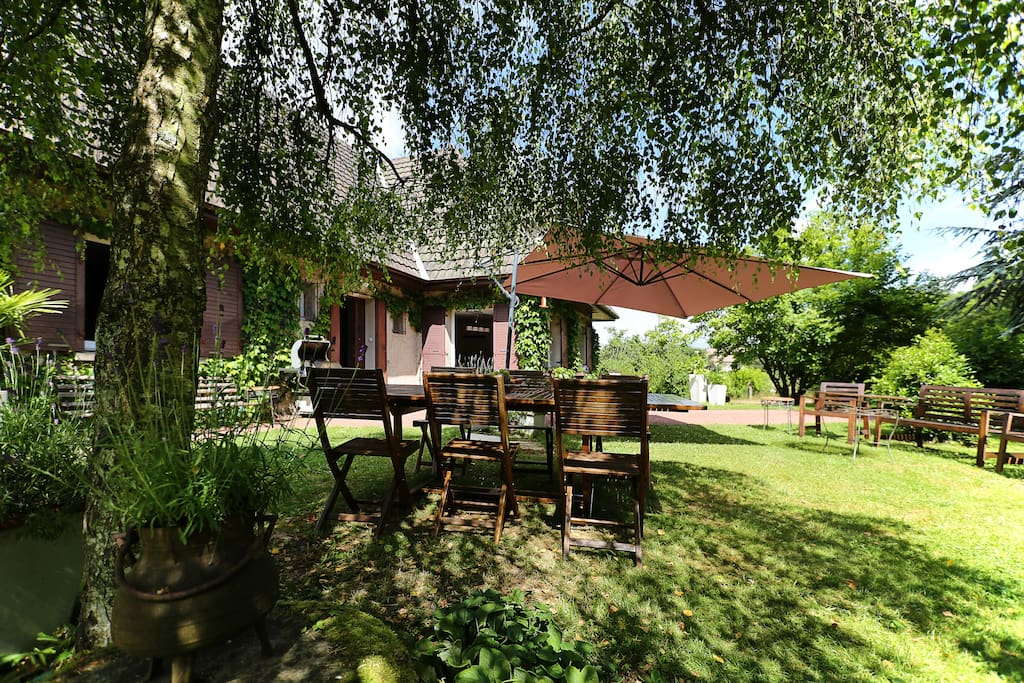 Country charm space in burgundy casas en alquiler en autun burgundy francia - Casas de alquiler en francia ...