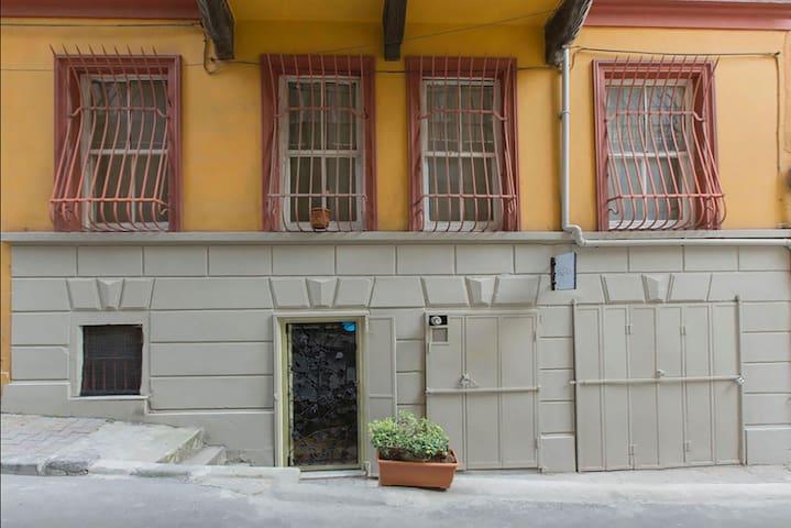 Guest Houses` Main Entrance