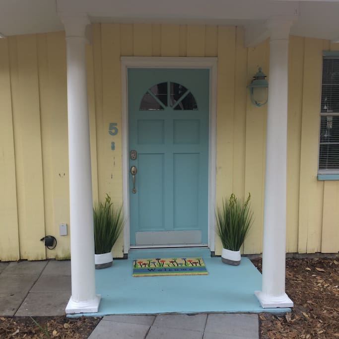 Front Door with Keypad entry