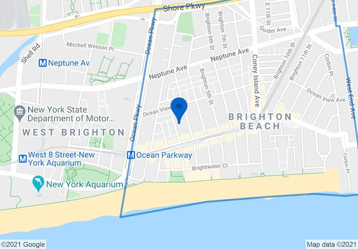 Brighton Beach Studio with terrace walk to ocean