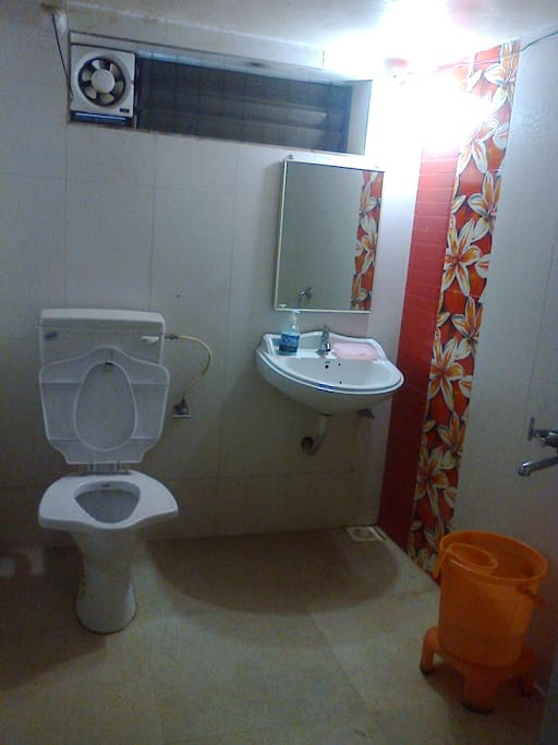 "bathroom of ""Sharad"" Guest Room"