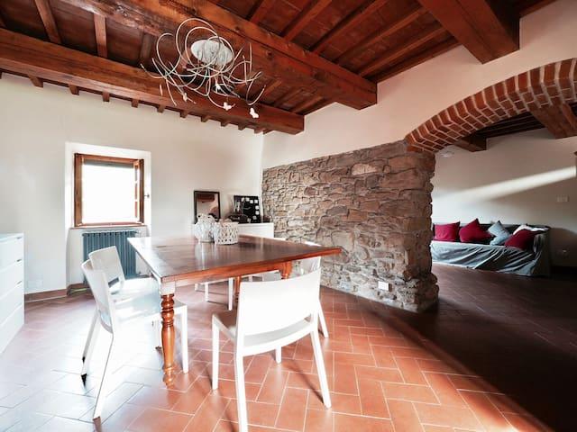 Casale La Fogliarina countryhouse design - Arezzo - Huis