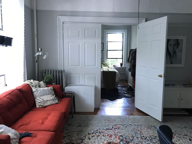 Prospect Park Gem! 1BR/1BA One Block from Park!
